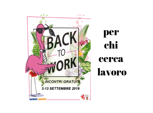 Back to work.. anche a Quistello