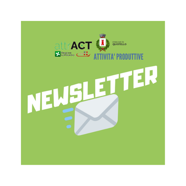 Newsletter Attract Comune di Quistello